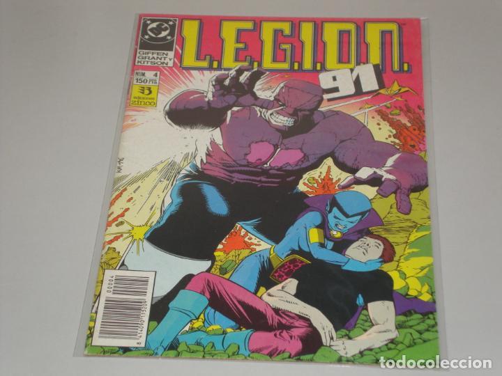 LEGION 91 4 (Tebeos y Comics - Zinco - Legión 91)