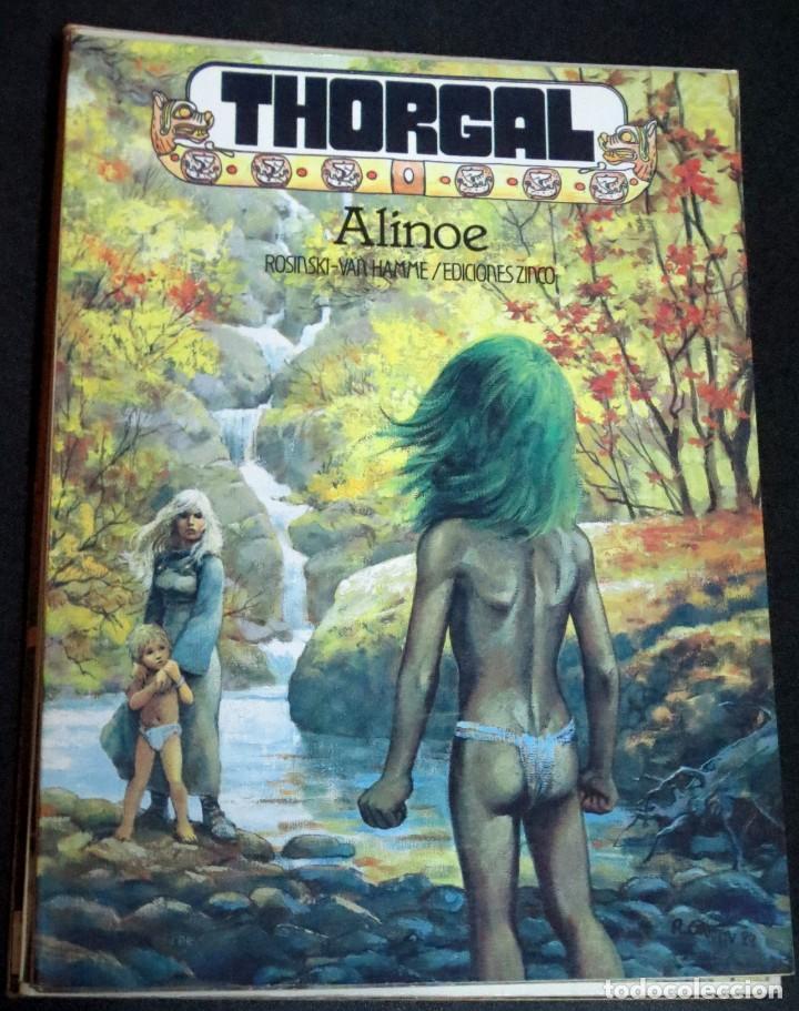 THORGAL ALINOE ROSINSKI VAN HAMME EDICIONES ZINCO AÑO 1986 (Tebeos y Comics - Zinco - Otros)