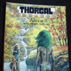 Cómics: THORGAL ALINOE ROSINSKI VAN HAMME EDICIONES ZINCO AÑO 1986. Lote 147345458