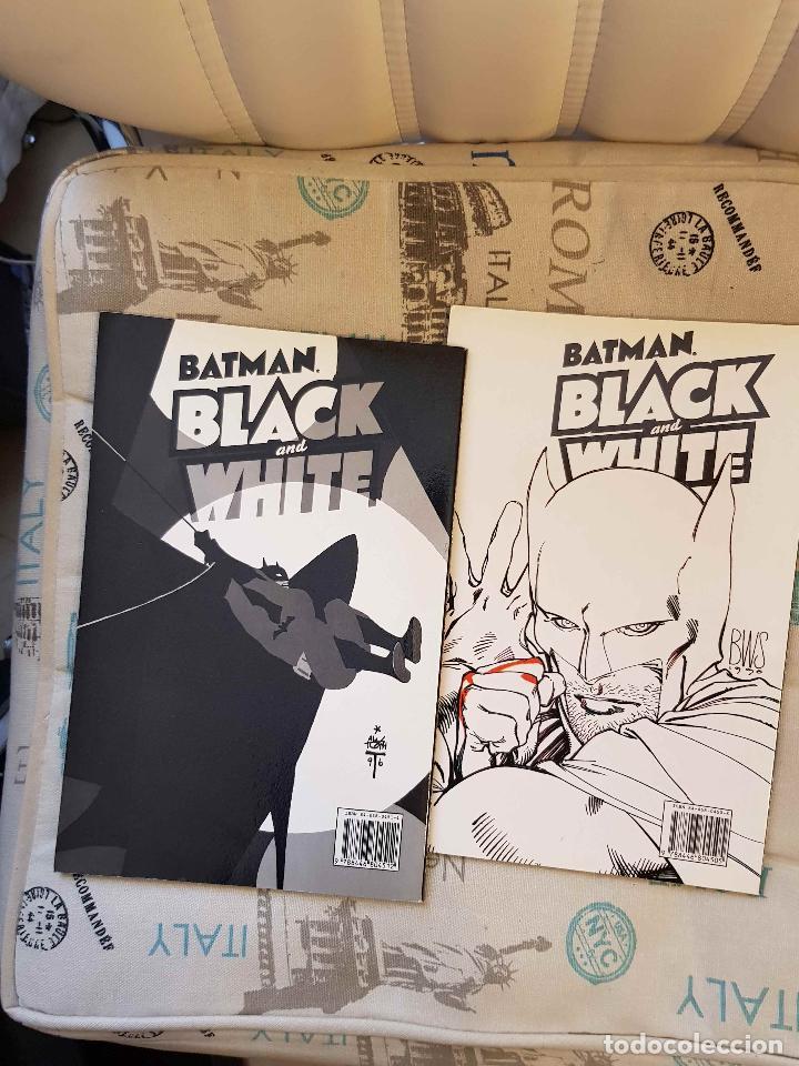 Comics: Batman Black and White 1 y 2 (completa, ed. Zinco, Gaiman, Miller, Kubert, Corben...) - Foto 3 - 147409058