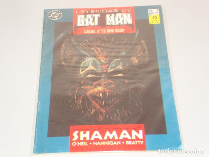 LEYENDAS DE BATMAN 1 (Tebeos y Comics - Zinco - Batman)