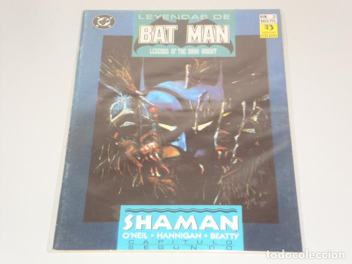LEYENDAS DE BATMAN 2 (Tebeos y Comics - Zinco - Batman)