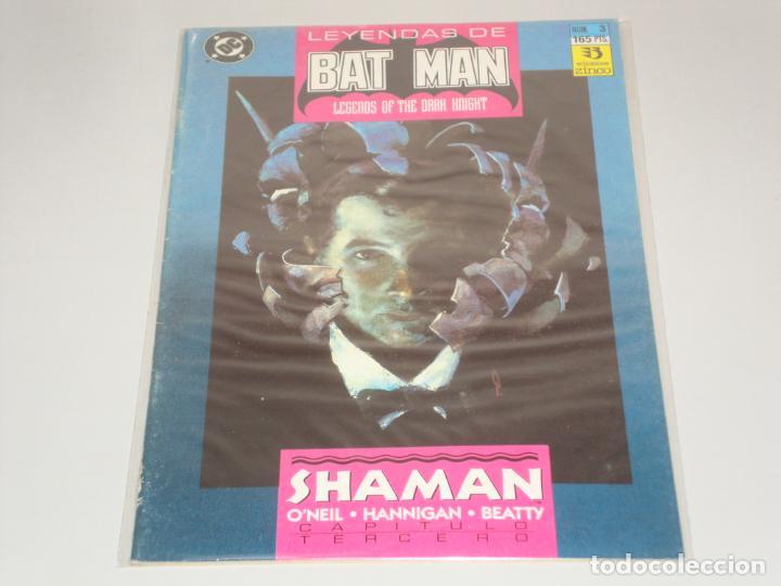 LEYENDAS DE BATMAN 3 (Tebeos y Comics - Zinco - Batman)