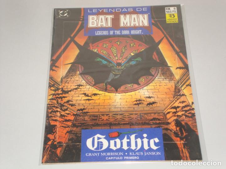 LEYENDAS DE BATMAN 6 (Tebeos y Comics - Zinco - Batman)