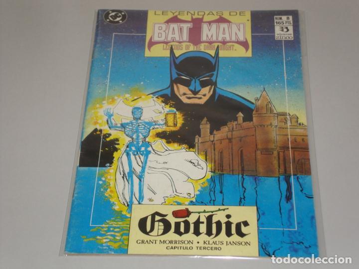 LEYENDAS DE BATMAN 8 (Tebeos y Comics - Zinco - Batman)