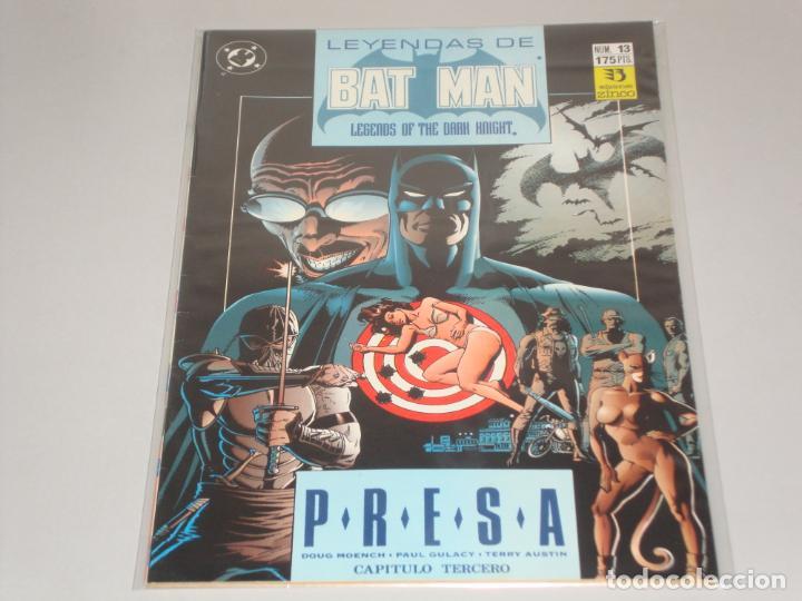 LEYENDAS DE BATMAN 13 (Tebeos y Comics - Zinco - Batman)