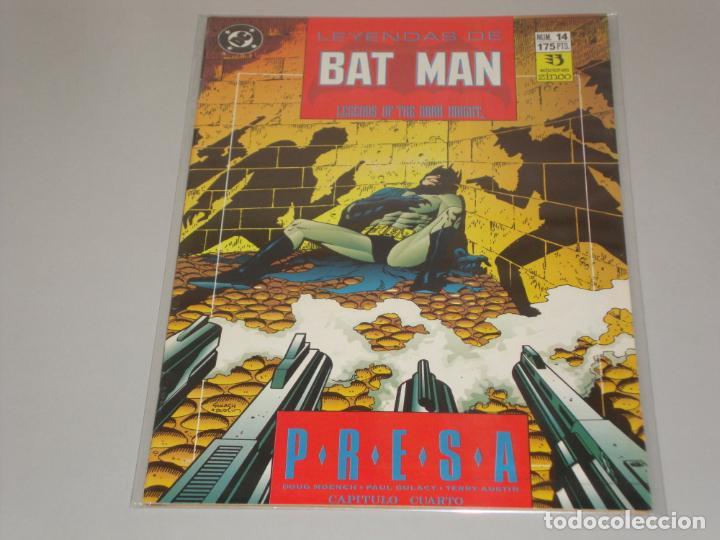 LEYENDAS DE BATMAN 14 (Tebeos y Comics - Zinco - Batman)