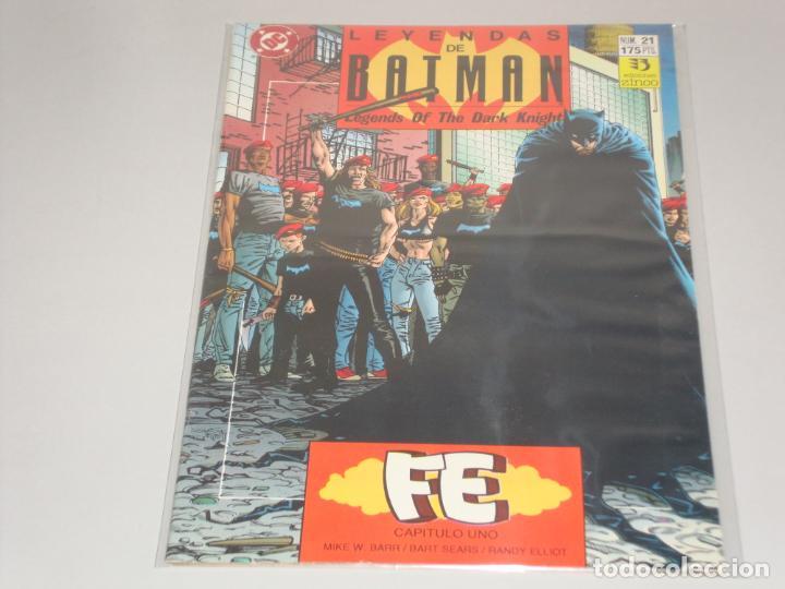 LEYENDAS DE BATMAN 21 (Tebeos y Comics - Zinco - Batman)
