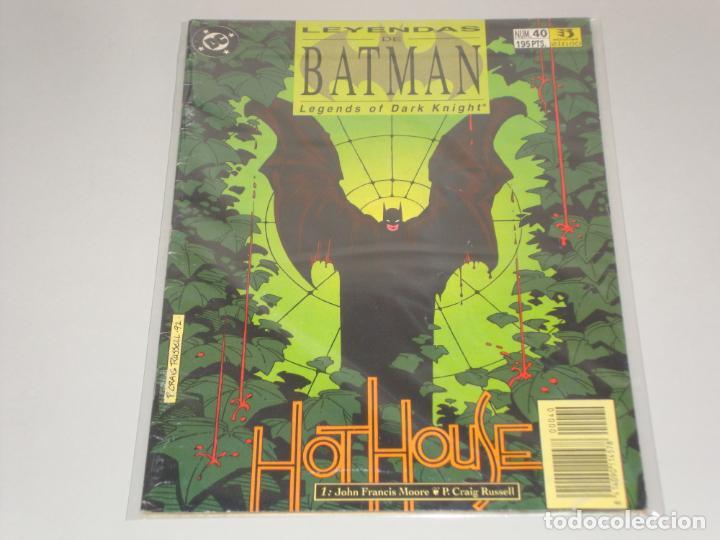 LEYENDAS DE BATMAN 40 (Tebeos y Comics - Zinco - Batman)