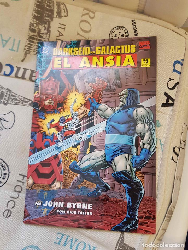 DARKSEID VS GALACTUS: EL ANSIA (J. BYRNE, ED. ZINCO) (Tebeos y Comics - Zinco - Prestiges y Tomos)