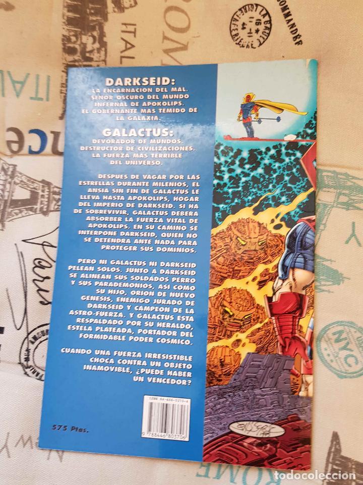 Cómics: Darkseid vs Galactus: el ansia (J. Byrne, ed. Zinco) - Foto 2 - 147448870