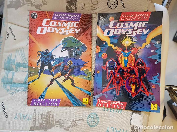 Comics: Cosmic Odyssey (completa, 4 prestigios, J. Starlin, M. Mignola, ed. Zinco) - Foto 2 - 147450342