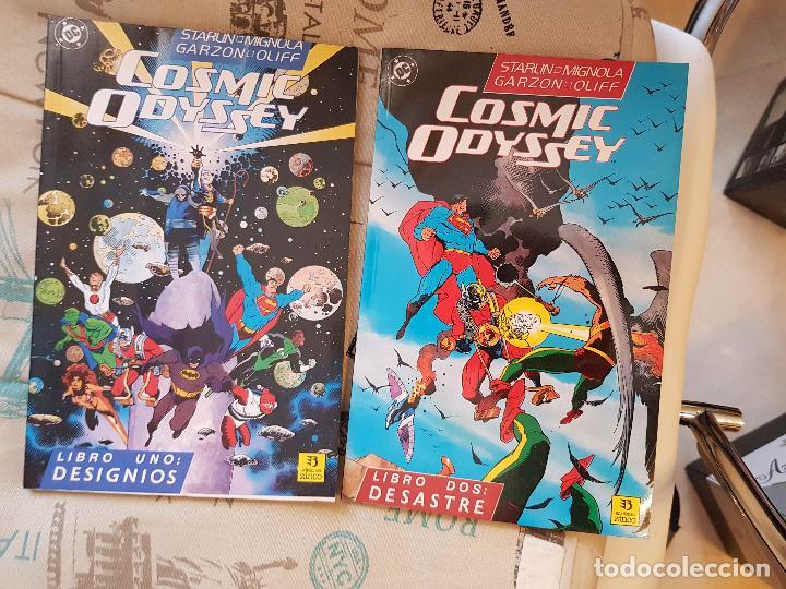 Comics: Cosmic Odyssey (completa, 4 prestigios, J. Starlin, M. Mignola, ed. Zinco) - Foto 3 - 147450342