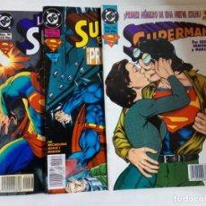 Cómics: LOTE DE 3 EJEMPLARES DE SUPERMAN. Lote 147472834