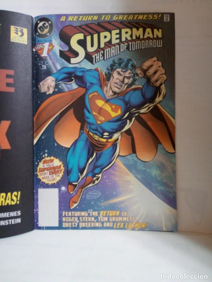 Cómics: LOTE DE 3 EJEMPLARES DE SUPERMAN - Foto 7 - 147472834