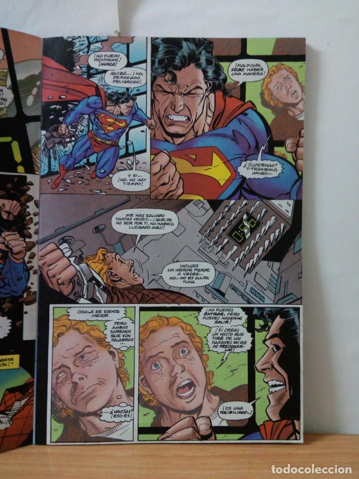Comics: 1 EJEMPLAR DE SUPERMAN COMICS DC EDICIONES ZINCO AÑOS 90 - Foto 2 - 147491142