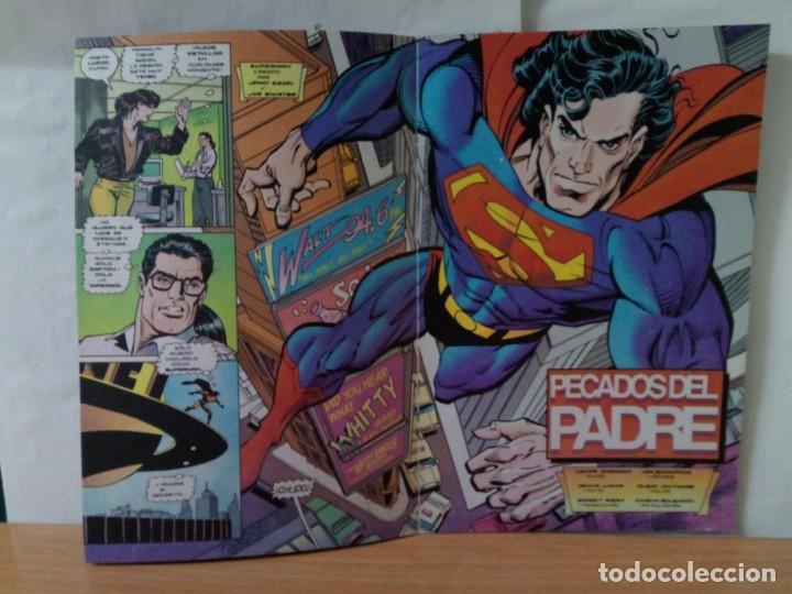Comics: 1 EJEMPLAR DE SUPERMAN COMICS DC EDICIONES ZINCO AÑOS 90 - Foto 3 - 147491142