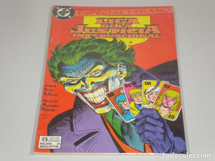 LIGA DE LA JUSTICIA INTERNACIONAL 3 ESPECIAL VERANO (Tebeos y Comics - Zinco - Liga de la Justicia)