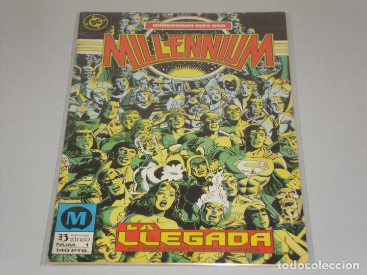 MILLENNIUM 1 (Tebeos y Comics - Zinco - Millenium)
