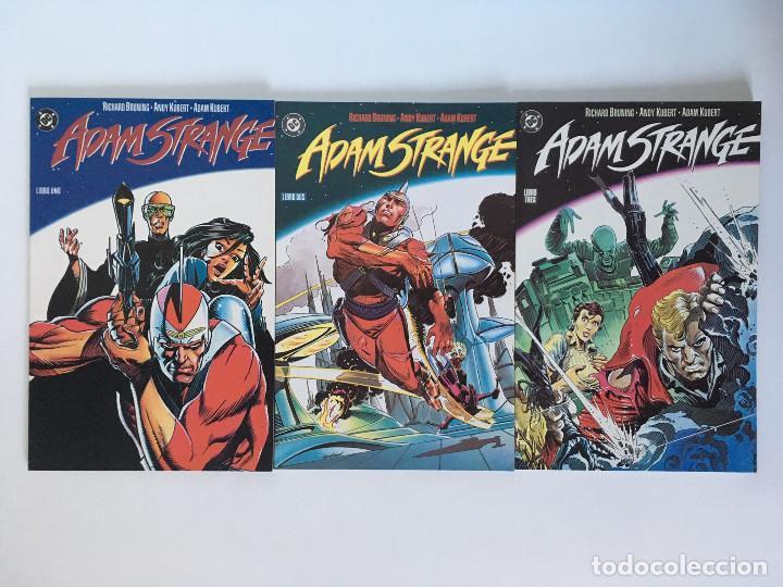ADAM STRANGE DE RICHARD BRUNING Y ADAM KUBERT. COLECCIÓN COMPLETA 3 TOMOS. ZINCO. (Tebeos y Comics - Zinco - Prestiges y Tomos)