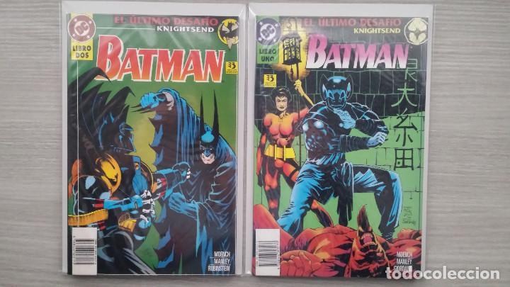 BATMAN EL ÚLTIMO DESAFÍO KNIGHTSEND COMPLETA TOMOS 1+2 RÚSTICA (ZINCO) (Tebeos y Comics - Zinco - Batman)