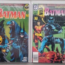 Cómics: BATMAN EL ÚLTIMO DESAFÍO KNIGHTSEND COMPLETA TOMOS 1+2 RÚSTICA (ZINCO). Lote 147639554