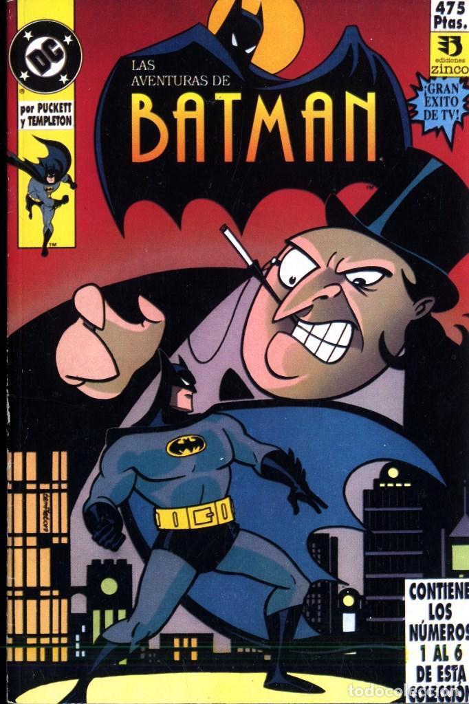 LAS AVENTURAS DE BATMAN 1992 RETAPADOS DEL N1 AL 16 (Comics und Tebeos - Zinco - Batman)