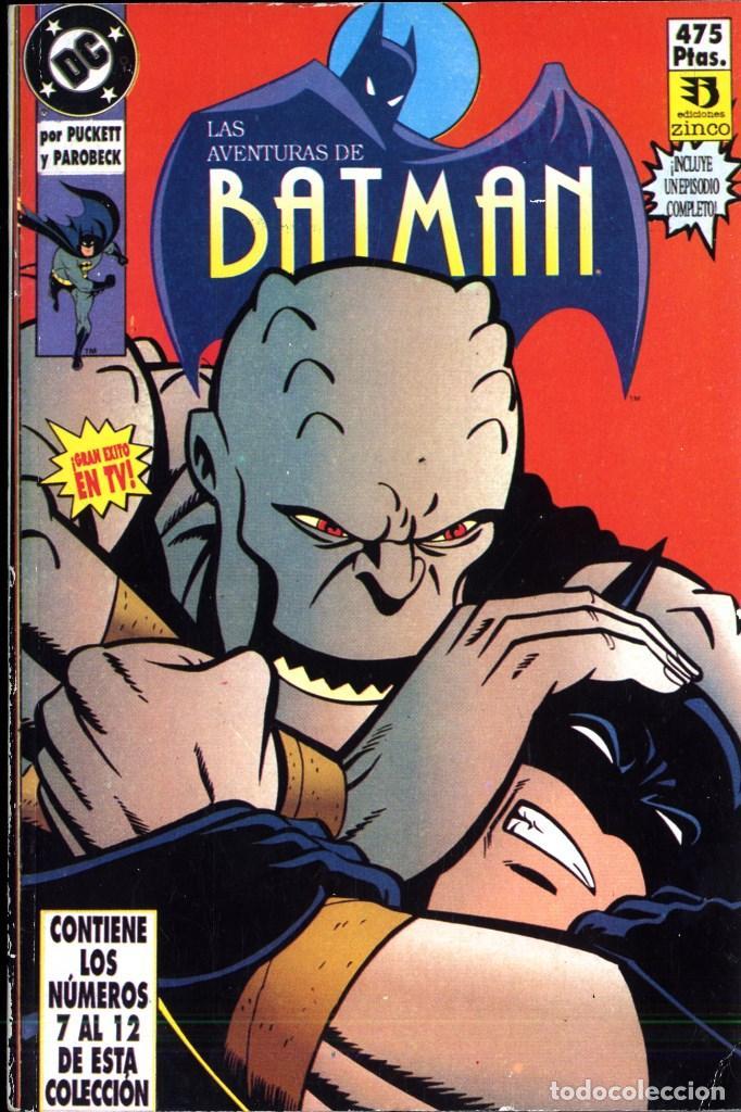 Comics: LAS AVENTURAS DE BATMAN 1992 RETAPADOS DEL N1 AL 16 - Foto 3 - 147791378