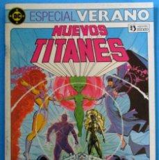 Cómics: NUEVOS TITANES - ESPECIAL VERANO - EDICIONES ZINCO., 1984. Lote 147996250
