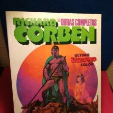 Cómics: RICHARD CORBEN - OBRAS COMPLETAS 12 EL ÚLTIMO UNDERGROUND - ZINCO, 1992. Lote 148136988
