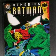 Cómics: DEMONIOS BATMAN AVENTURAS EDICIONES ZINCO VOLUMEN ESPECIAL. Lote 148290294