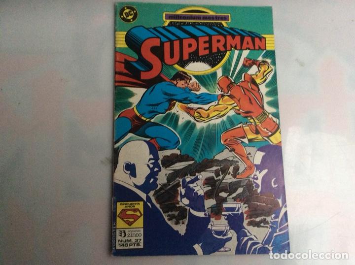 SUPERMAN Nº 37 -EDITA : ZINCO DC (Tebeos y Comics - Zinco - Superman)