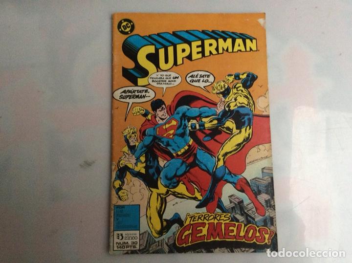 SUPERMAN Nº 30 -EDITA : ZINCO DC (Tebeos y Comics - Zinco - Superman)