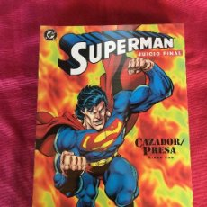 Cómics: ZINCO DC SUPERMAN CAZADOR/PRESA TOMOS 1,2,3, MUY BUEN ESTADO. Lote 148451950