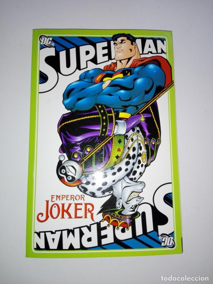 COMIC-SUPERMAN-EMPEROR JOKER-DC-NUEVO-MUCHAS PÁGINAS-COLECCIONISTAS-VER FOTOS (Tebeos y Comics - Zinco - Superman)