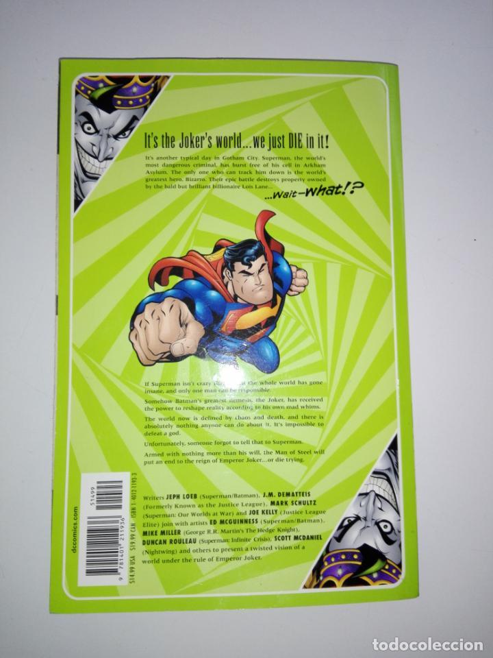 Cómics: COMIC-SUPERMAN-EMPEROR JOKER-DC-NUEVO-MUCHAS PÁGINAS-COLECCIONISTAS-VER FOTOS - Foto 3 - 148490654