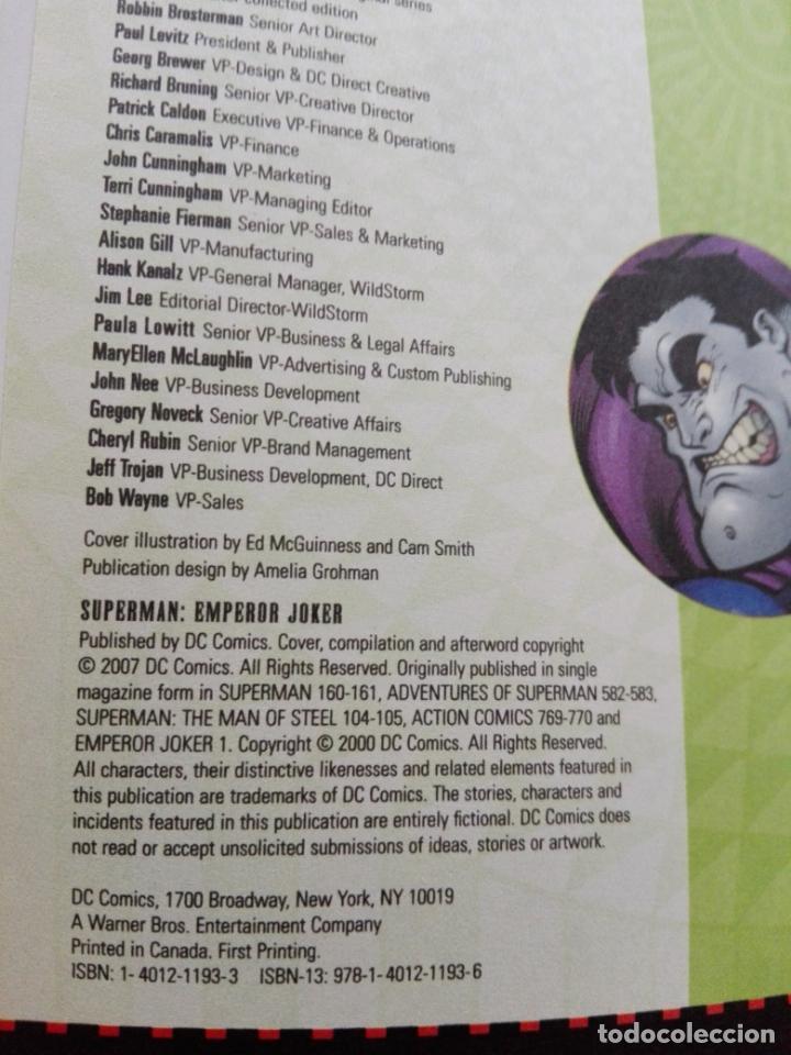 Cómics: COMIC-SUPERMAN-EMPEROR JOKER-DC-NUEVO-MUCHAS PÁGINAS-COLECCIONISTAS-VER FOTOS - Foto 10 - 148490654