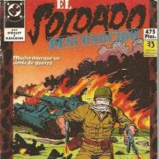 Cómics: EL SOLDADO DESCONOCIDO COMPLETA 10 NUMEROS EN DOS TOMOS RETAPADOS - ZINCO - OFI15T. Lote 149188794