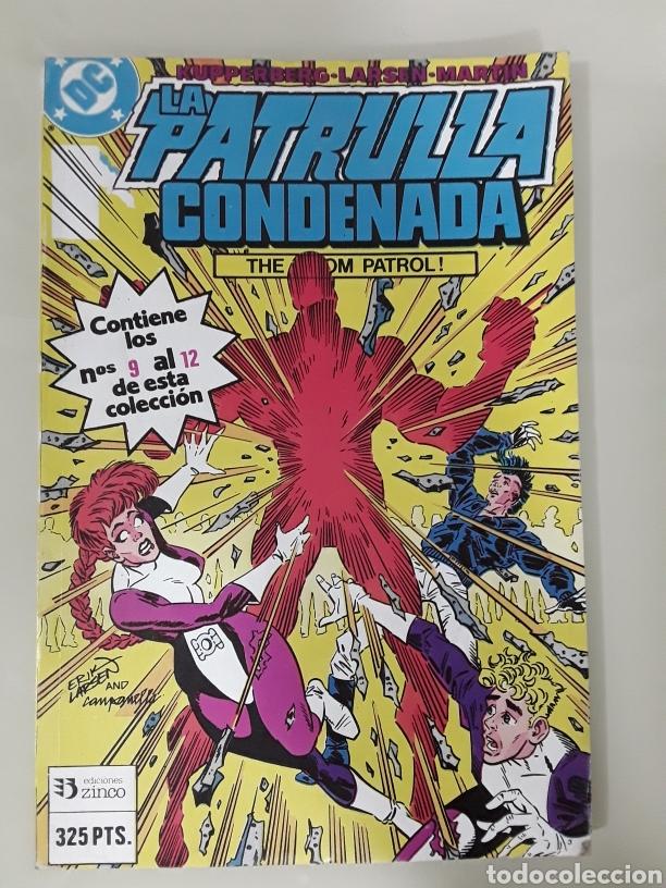 LA PATRULLA CONDENADA EDICIONES ZINCO DC NUMERO 3. MUY BUEN ESTADO. (Tebeos y Comics - Zinco - Patrulla Condenada)