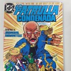 Cómics: LA PATRULLA CONDENADA CONTRA EL GENERAL IMMORTUS DC COMICS. Lote 149246046