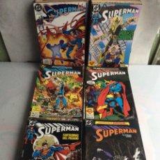 Cómics: SUPERMAN VOLUMEN 2 LOTE DE 113 -EDITA : ZINCO DC. Lote 149249302
