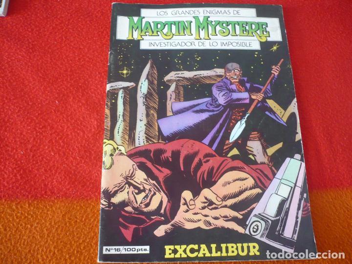 MARTIN MYSTERE Nº 16 EXCALIBUR ¡BUEN ESTADO! ZINCO 1983 (Tebeos y Comics - Zinco - Otros)
