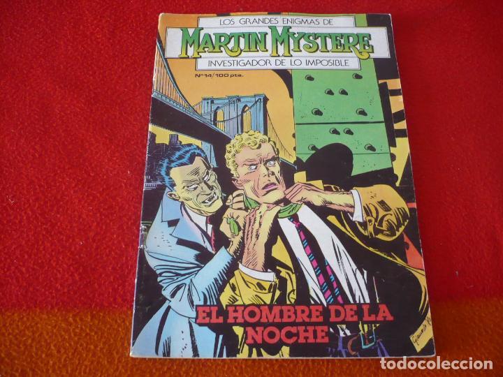 MARTIN MYSTERE Nº 14 EL HOMBRE DE LA NOCHE ¡BUEN ESTADO! ZINCO 1983 (Tebeos y Comics - Zinco - Otros)