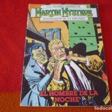 Cómics: MARTIN MYSTERE Nº 14 EL HOMBRE DE LA NOCHE ¡BUEN ESTADO! ZINCO 1983 . Lote 149395134