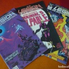 Cómics: LEGION DE SUPERHEROES NºS 16, 17 Y 18 ( PAUL LEVITZ ) ¡BUEN ESTADO! DC ZINCO. Lote 149437642