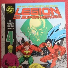Cómics: LEGION DE SUPER HÉROES 4. ESPAÑOL. EDICIONES ZINCO. Lote 149686034