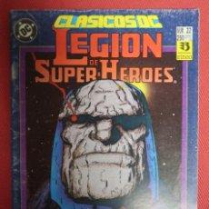 Cómics: CLÁSICOS DC 22. LEGION DE SUPER HÉROES. Lote 149761734