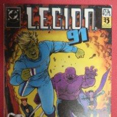 Cómics: LEGION 91. NÚMEROS 1 A 5. EDICIONES ZINCO. Lote 149761930