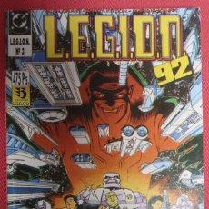 Cómics: LEGION 92. NÚMEROS 11 A 15. EDICIONES ZINCO. Lote 149762210