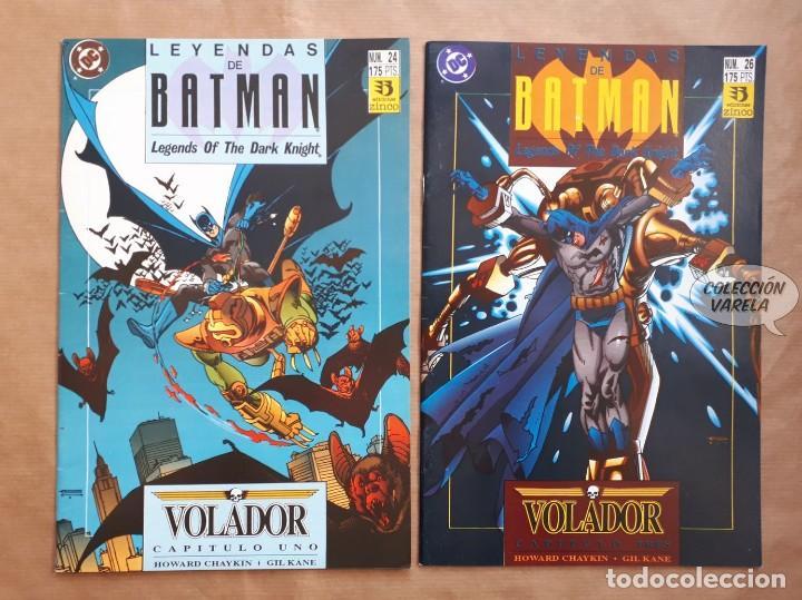LEYENDAS DE BATMAN - 24 Y 26 - SAGA VOLADOR 1 Y 3 - CHAYKIN Y KANE - ZINCO - JMV (Tebeos y Comics - Zinco - Batman)